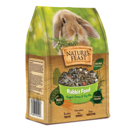 Nature's Feast Rabbit Food 1.5kg