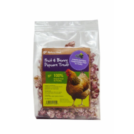 Natures Grub Fruit & Berry Popcorn Poultry Treat 20g