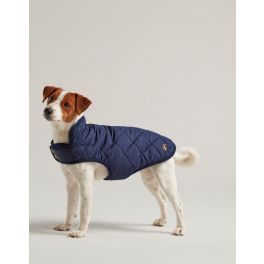 Joules Quilted Navy Dog Coat
