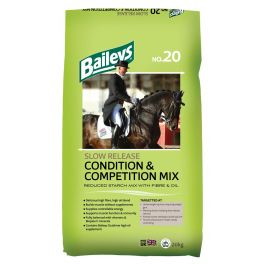 Baileys no.20 Slow Release Condition & Competition Mix Horse Food 20kg
