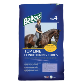 Baileys No.4 Top Line Conditioning Cubes Horse Food 20kg