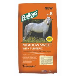 Baileys no.8 Meadow Sweet with Turmeric Horse Food 15kg