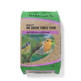 Marriages No Grow Ground & Table Wild Bird Seed 13kg