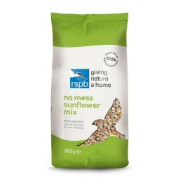 RSPB No Mess Sunflower Mix Wild Bird Food 1.8kg