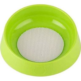 Oh Bowl Hairball Prevention Green Cat Feed Bowl
