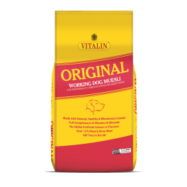 Vitalin Orignal Working Dog Muesli Adult Dog Food 15kg