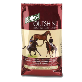 Baileys Outshine High Oil Supplement Horse Food 20kg