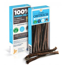 JR Pure Ostrich Sticks Dog Treats 50g