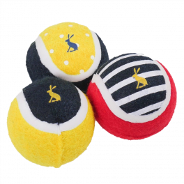 Joules Outdoor Balls Dog Toy 3 Pack