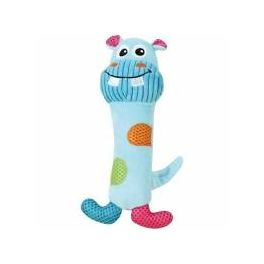 Pawise Vivid Life Stick Hippo Dog Toy