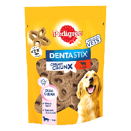 Pedigree Dentastix Chewy Chunx Maxi Dog Treat Beef Flavour 68g