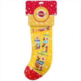 Pedigree Christmas Treats Variety Dog Stocking