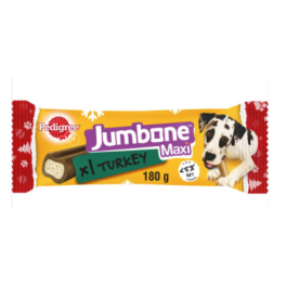 Pedigree Christmas Turkey Maxi Jumbone Dog Treat 180g