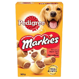 Pedigree Markies Biscuits with Marrowbone Dog Treats