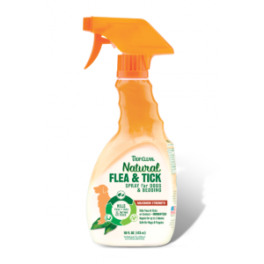 Tropiclean Natural Flea and Tick Spray for Dogs and Bedding 473ml