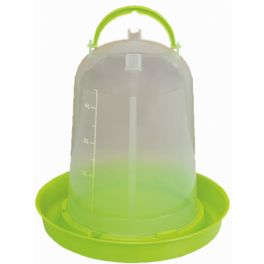 Plastic Lime Green Eco Poultry Drinker 5L