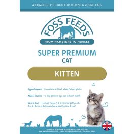 Foss Feeds Sample - Super Premium Chicken Kitten Cat Food 100g