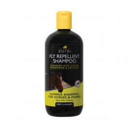 Lincoln Fly Repellent Shampoo for Horses & Ponies 500ml