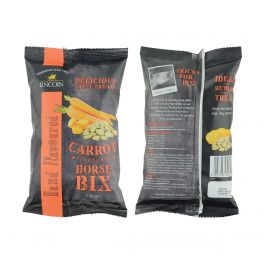 Lincoln Horse Bix Horse Treats Carrot Flavour 150g