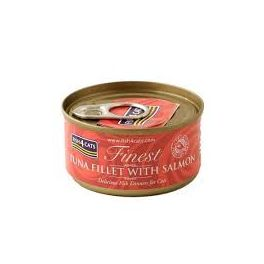 Fish4Cats Finest Tuna Fillet with Salmon Cat Food 70g