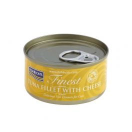 Fish4Cats Finest Tuna Fillet with Cheese Cat Food 70g