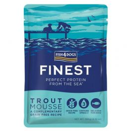 Fish4Dogs Finest Trout Mousse Dog Food 6x100g