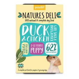 Natures Deli Duck & Chicken Puppy With Sage & Brown Rice 400g