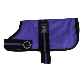 Outhwaite Purple Waterproof Dog Coat