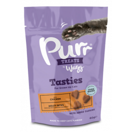 Wagg Purr Tasties with Chicken Cat Treats 60g