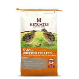 Heygates Quail and Partridge Breeder/Layers Pellets 20kg