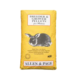Allen & Page Breeder & Grower Rabbit Pellets 20kg