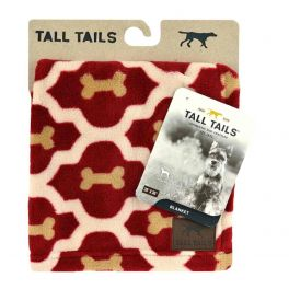 Tall Tails Red Bone Dog Fleece Blanket Small