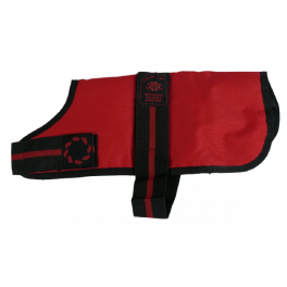 Outhwaite Red Waterproof Dog Coat