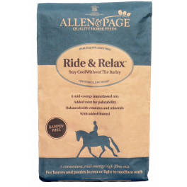 Allen & Page Ride & Relax Horse Food 20kg