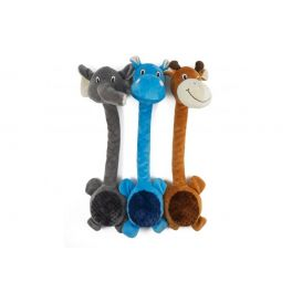 Ancol Ropey Neck Animal Dog Toy