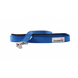Doodlebone Royal Blue Padded Dog Lead