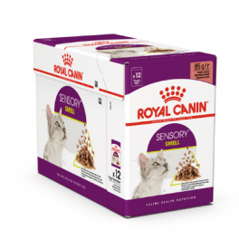 Royal Canin Sensory Smell in Gravy Wet Cat Food Pouches 12x85g