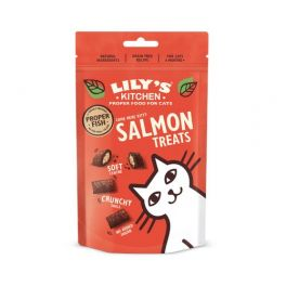 Lily's Kitchen Salmon Pillow Cat Treats 60g