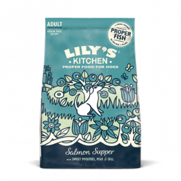 Lily's Kitchen Salmon Supper Dry Dog Food