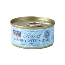 Fish4Cats Finest Sardine with Mussel Cat Food 70g