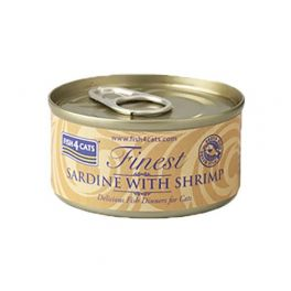 Fish4Cats Finest Sardine with Shrimp Cat Food 70g
