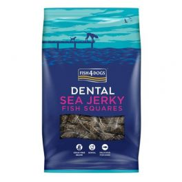Fish4Dogs Sea Jerky Squares Dog Treats 100g