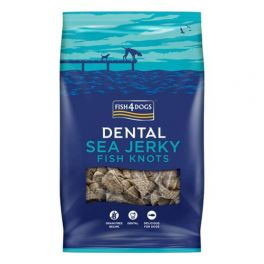 FIsh4Dogs Sea Jerky Fish Knots Dog Treats 100g