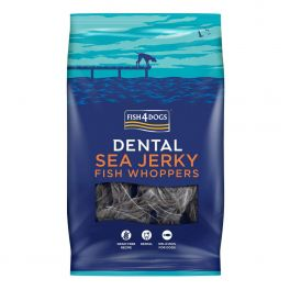 Fish4Dogs Dental Sea Jerky Fish Whoppers Dog Treats 500g