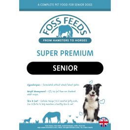 Foss Feeds Sample - Super Premium Senior/Light Fish with Rice Dog Food 100g