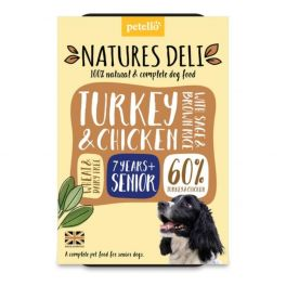 Natures Deli Turkey & Chicken Senior Dog Food 400g