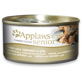 Applaws Tuna with Sardine Complete Senior Cat Food 70g