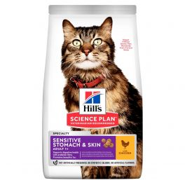 Hill's Science Plan Feline Sensitive Stomach & Skin Chicken 1.5kg