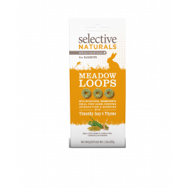 Selective Naturals Meadow Loops Small Animal Treats