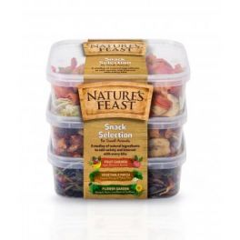Nature's Feast Snack Selection for Small Animals 175g